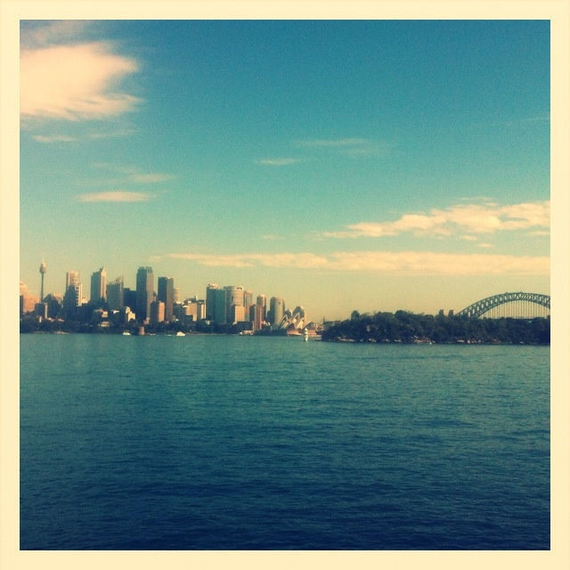 Sydney skyline from Mosman