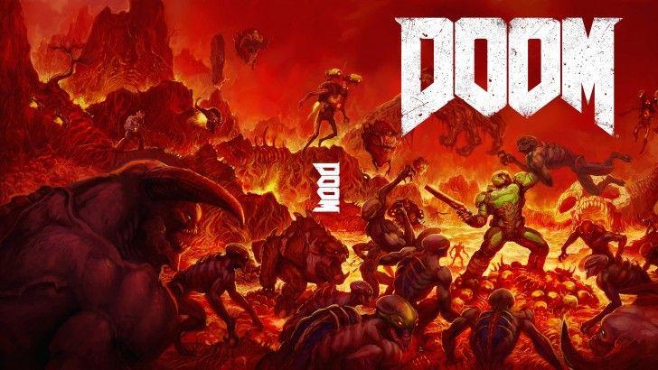 Download Doom 2016 Cover Art Hell Monster Demon 3840x2160