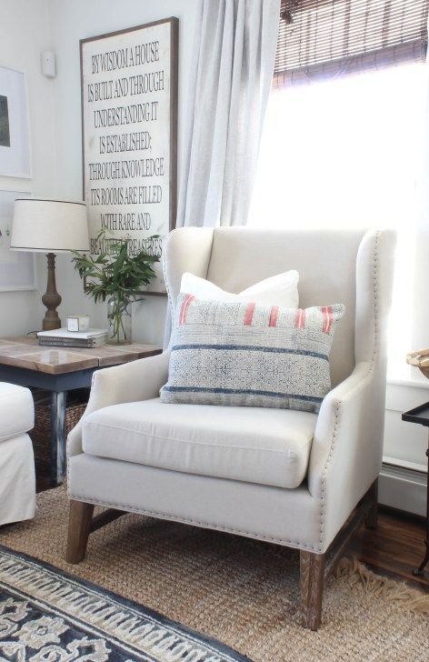 Wingback Chairs In The Living Room