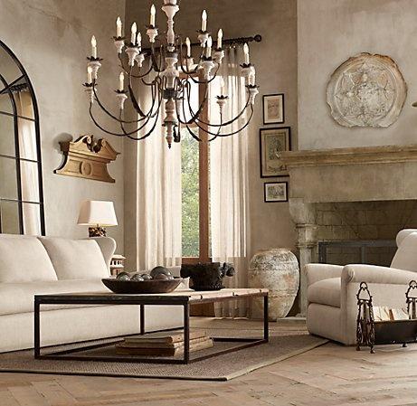 56 best images about restorationhardware on pinterest - Restoration hardware living room ideas ...