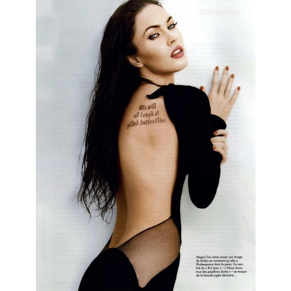 ELLE French Editorial Vampire Des Sens, October 23, 2009 Shot #2 ❤ liked on Polyvore featuring megan fox and editorials
