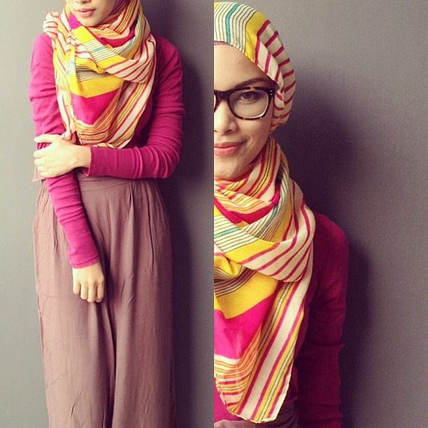 Today's outfit, fun fuschia. - @Fifi Alvianto- #webstagram