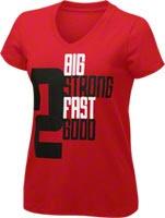 Women's 2 Big 2 Strong Red/Black V-Neck T-Shirt- 21KING by Stacey King - http://www.fansedge.com/Chicago-Bulls-Stacey-King-Womens-2-Big-2-Strong-V-Neck-T-Shirts-_500601843_PG.html?social=pinterest_sk_wvneck     #ChicagoBulls