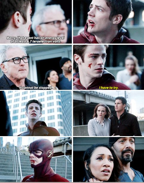 """""""I have to try"""" - Barry, Caitlin, Ronnie, Dr. Stein, Iris and Joe #TheFlash"""
