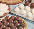 Thanksgiving leftovers--Chocolate-Coconut (mashed potato) candy