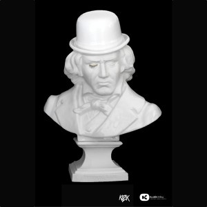 Ludwig Van Bust 2 by Kozik , Porcelain Edition, Made in Limoges, France $1246
