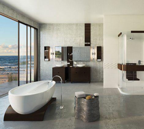 82 Best Contemporary Bath Designs Images On Pinterest | Bath