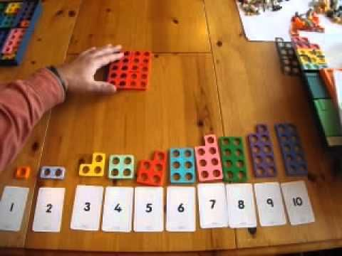 Numicon for Counting in 2's, 5's and 10's