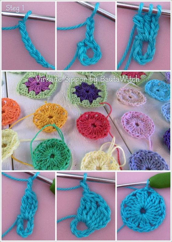 Crochet-anemones-by-step 1 BautaWitch - Page 2 of 4