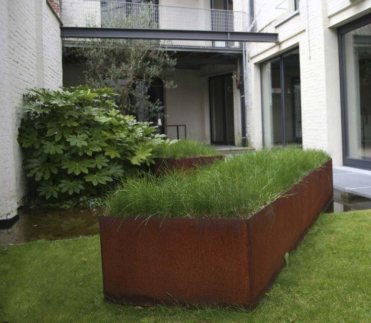 corten round garden beds - photo #13