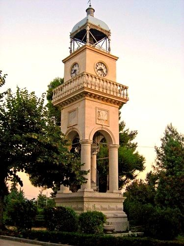 This is my Greece | The clocktower in the center of the city of Ioannina