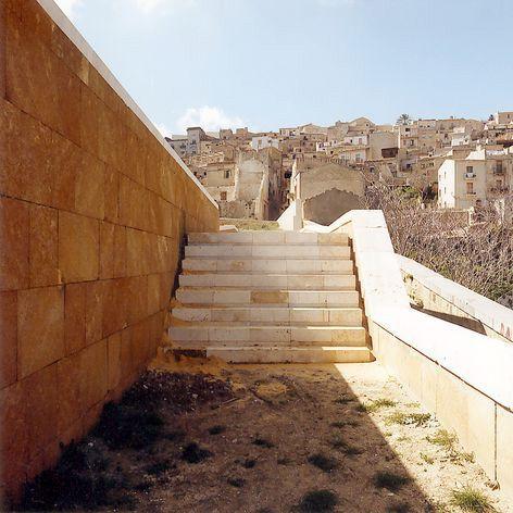 Architecture in Sicily - Teatro all'aperto a Salemi – project by R. Collovà