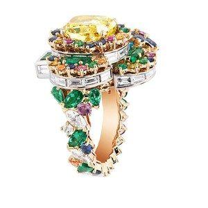 「ディオール」ヴェルサイユ宮殿の庭園が着想のハイジュエリー、瑞々しい草花をダイヤモンドやエメラルドで - 画像15