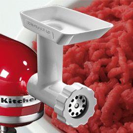 17 best ideas about kitchenaid grinder on pinterest kitchenaid meat grinder homemade sausage - Kitchenaid meat mincer ...