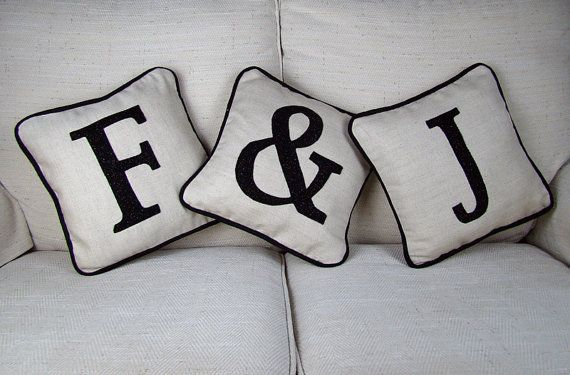 Hey, I found this really awesome Etsy listing at https://www.etsy.com/uk/listing/219561586/personalised-initial-cushions-set-of