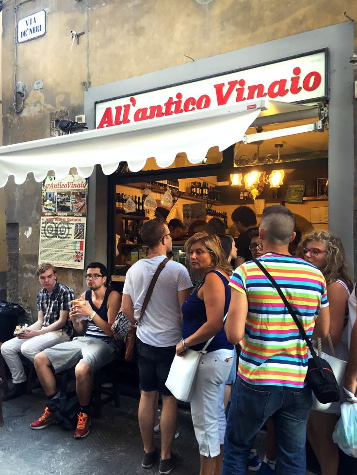 Made-to-order panini in the heart of Florence at All'antico Vinaio