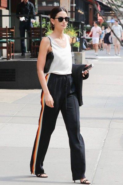 Lily Aldridge in New York City on June 4, 2016