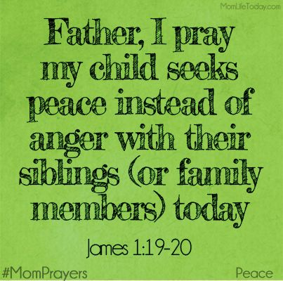 """""""Know this, my beloved brothers: let every person be quick to hear, slow to speak, slow to anger; for the anger of man does not produce the righteousness of God."""" James 1:19-20"""