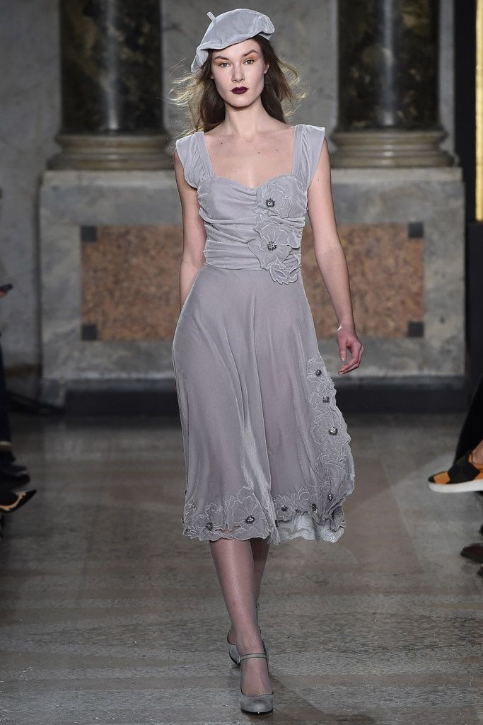 Luisa Beccaria -- the dress, but not the hat...