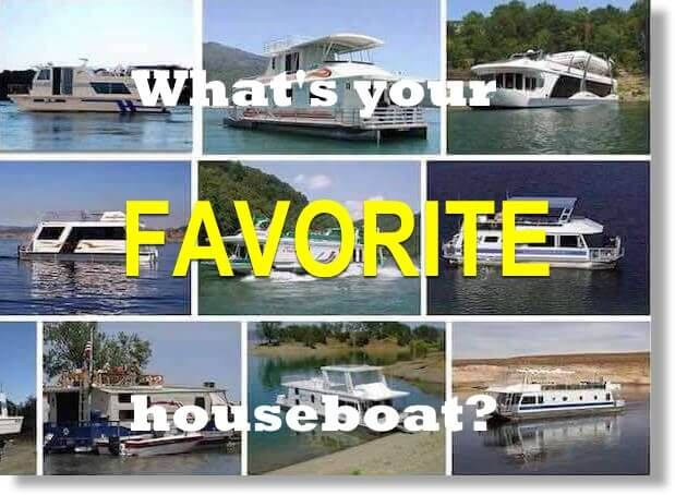 What's your favorite houseboat?