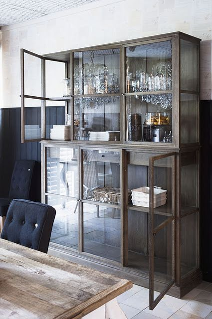 metal caseDining Room, Display Cabinets, China Cabinets, Storage Cabinets, Cabinets Storage, Bar Area, Display Cases, Clinton Hills, Glasses Doors
