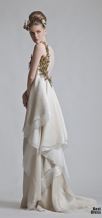 Krikor Jabotian. Gold and white. Love.