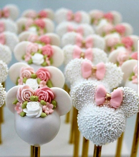 Simple Baby Shower Treats for Girls Dessert Tables