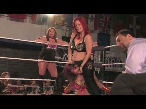 women wrestling ring -  rage deziree vs kira rose
