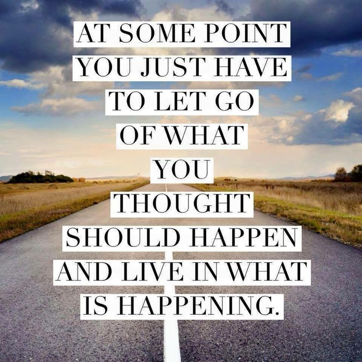 At some point…live in what is happening