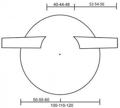 Giacca circolare - modello