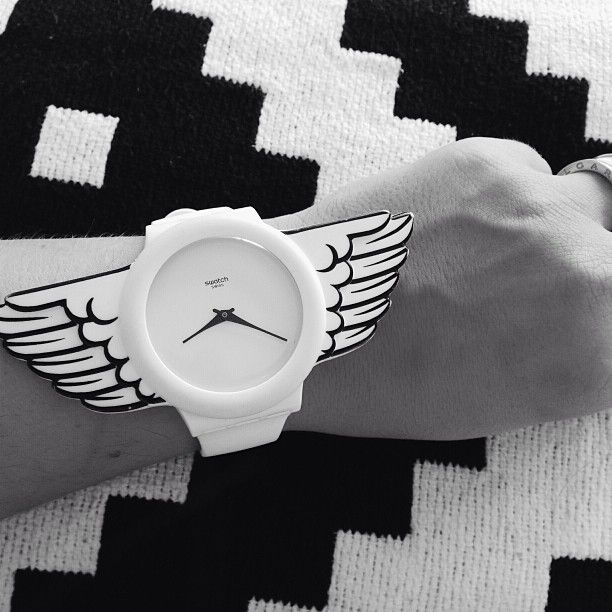 #Swatch: Le Accessoires, Wings Swatch, Marching 2014, Fashion Freaky, Swatch Watches, Sisters Stuff, Ticking Tock, Streetstyl Woman