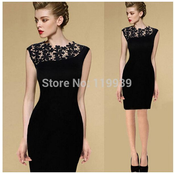 Bodycon pencil dress for special events and parties... which I find adorable!