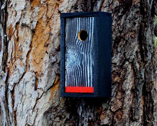 I would love to make my own bird houses like the ones Design Work Life found on Etsy.