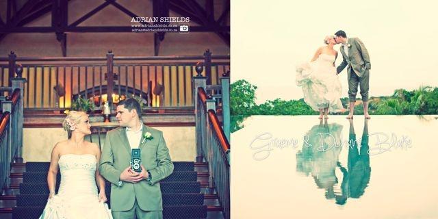 Dohane & Graeme Blake wedding at Zimbali, South Africa