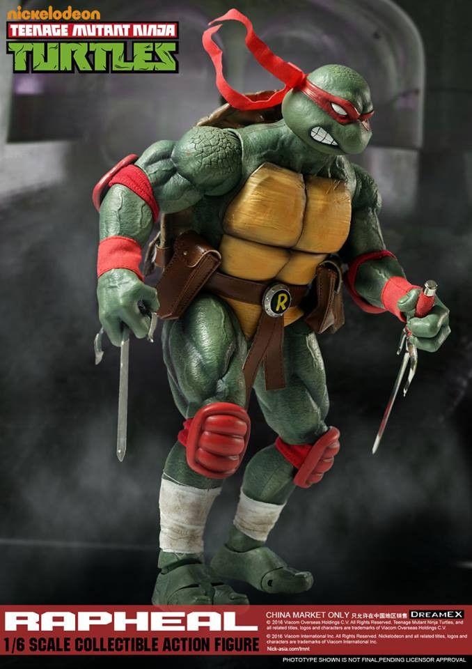 1/6 Scale Raphael Teenage Mutant Ninja Turtle Figure by DreamEX