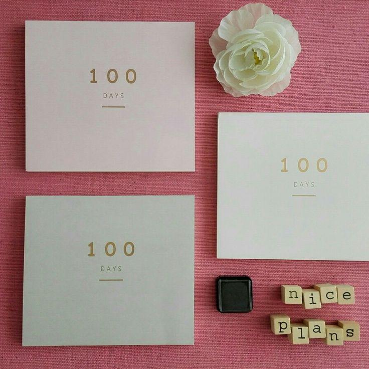 Nieuw! | 100 Days - Planner!  Welke plannen heb jij allemaal?  Shop nu op www.mintandmail.nl