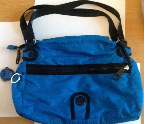 Kipling Blue Bag.Monkey Blue Gorilla Girls.GOOD CONDITION .