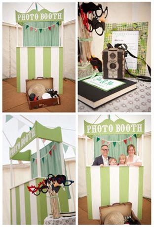 Photo booth idea #PhotoBooth #TipiWedding