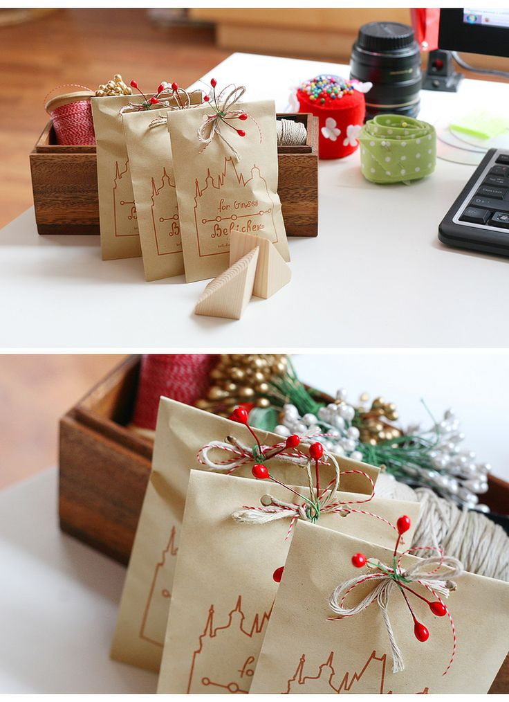 Christmas Party Favours Ideas Part - 33: NYC Skyline #paper #bag #christmas #favor #holiday #party #packaging