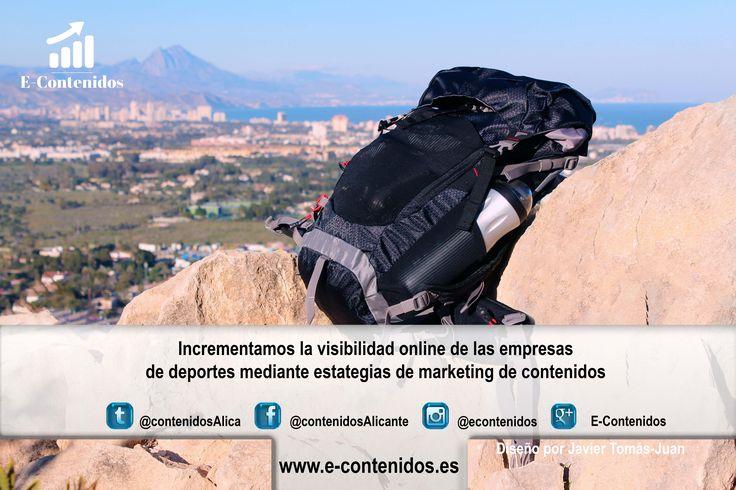 ¿Tienes una tienda online de deportes y necesitas incrementar la visibilidad? ¡Planificamos estrategias de marketing de contenidos!