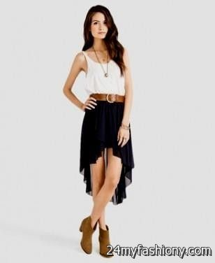 High low dresses casual ile ilgili Pinterest'teki en iyi 25'den ...