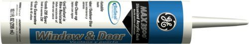 Momentive Performance Materials Ge22624 Max Extra 3500 Siliconized Acrylic Window And Door Sealant, 10.1-Ounce, Brown, 2015 Amazon Top Rated Latex Caulk #HomeImprovement