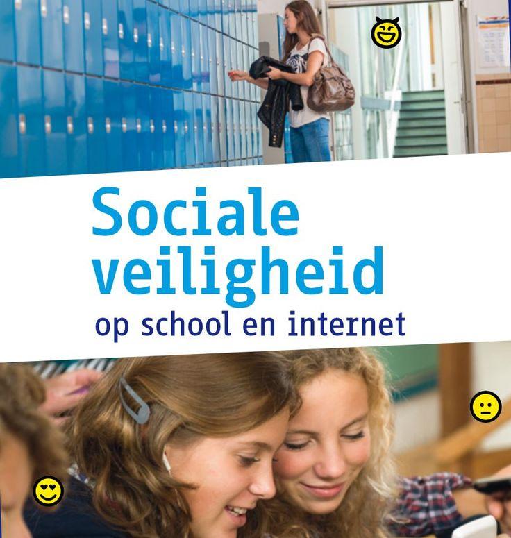 De publicatie 'Sociale Veiligheid op School en Internet' biedt scholen antwoord op deze en andere vraagstukken over sociale veiligheid en internet. Het is een wegwijzer in de digitale wereld. Naast feiten over jongeren en sociale media bevat de uitgave onder meer een stappenplan waarmee scholen de schade bij digitale incidenten kunnen beperken. https://www.kennisnet.nl/artikel/sociale-veiligheid-op-school-en-internet-vergroot-je-zo/