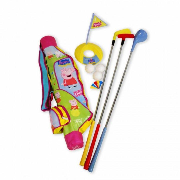 Qué tal un poco de golf para estos días de verano... Acompañados de Peppa Pig, Hello Kitty o Bob Esponja.