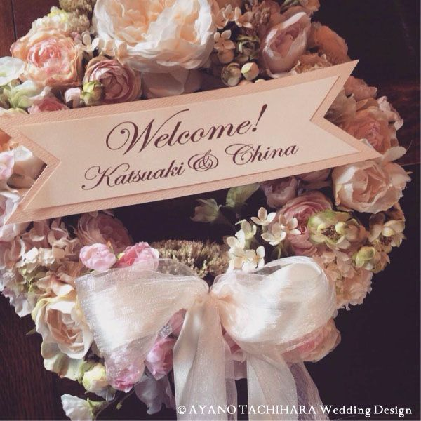 MY STYLE Wedding » 検索結果: » ウェルカムボード