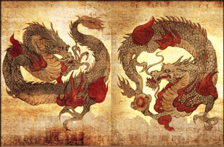 Ryujin- jap dragon of rein, leves in the sea palace