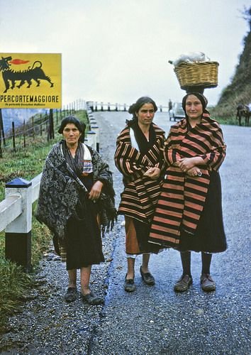 On The Road To Crotone From Catanzaro, Italy, 1955