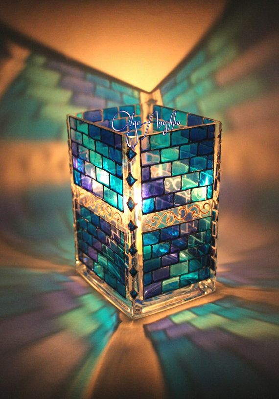 My Aqua color Stained Glass Jewel Box is included in this gorgeous collection! Glass Creations by Cheryl Peterson on Etsy