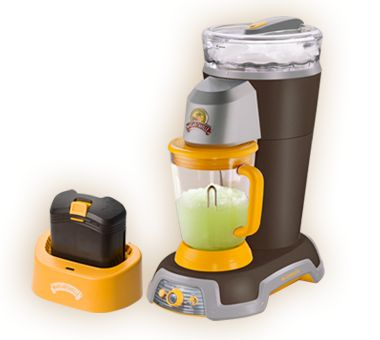 ExplorerTM Cordless Frozen Concoction® Maker With no need for a cord, this portable powerhouse can lead your party into uncharted territories. Whip up frozen drinks right on your boat. Take it tailgating. Throw a bash at the beach. Yes, this is Paradise Unplugged.
