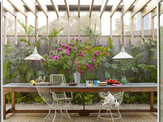 if i had a garden/patio.: Outdoor Dining, Ngoc League, Outdoor Table, Outdoor Living, Patio, Long Table, Outdoor Spaces, Garden
